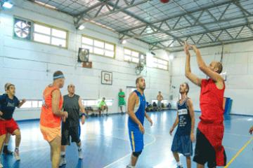 אולם כדורסל/ כדור- עף/ כדור רשת